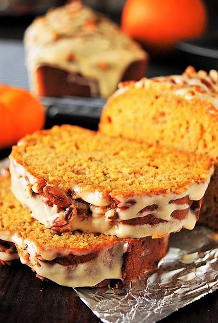 Slices of Pumpkin Banana Bread Image