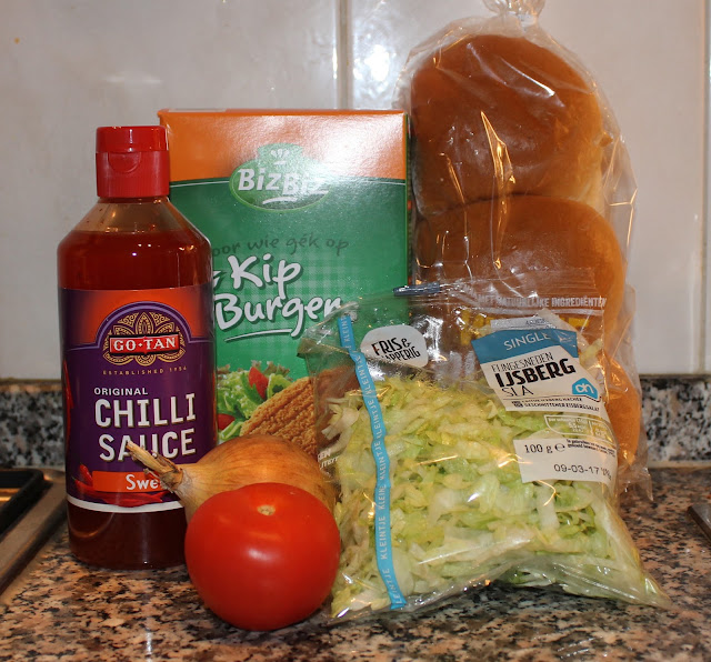 IMG 2342 - Recept: Kipburgers