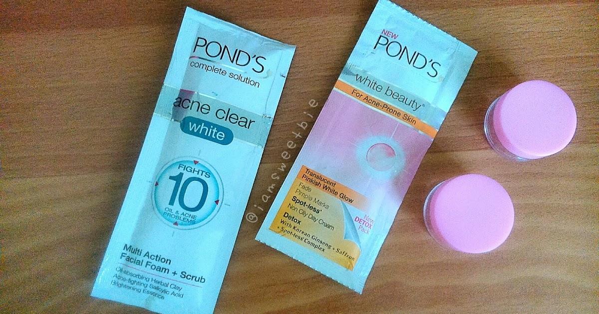 Pond S Acne Clear White Facial Scrub Wanderwahm