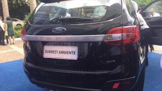 Ảnh chi tiết Ford Everest 2018