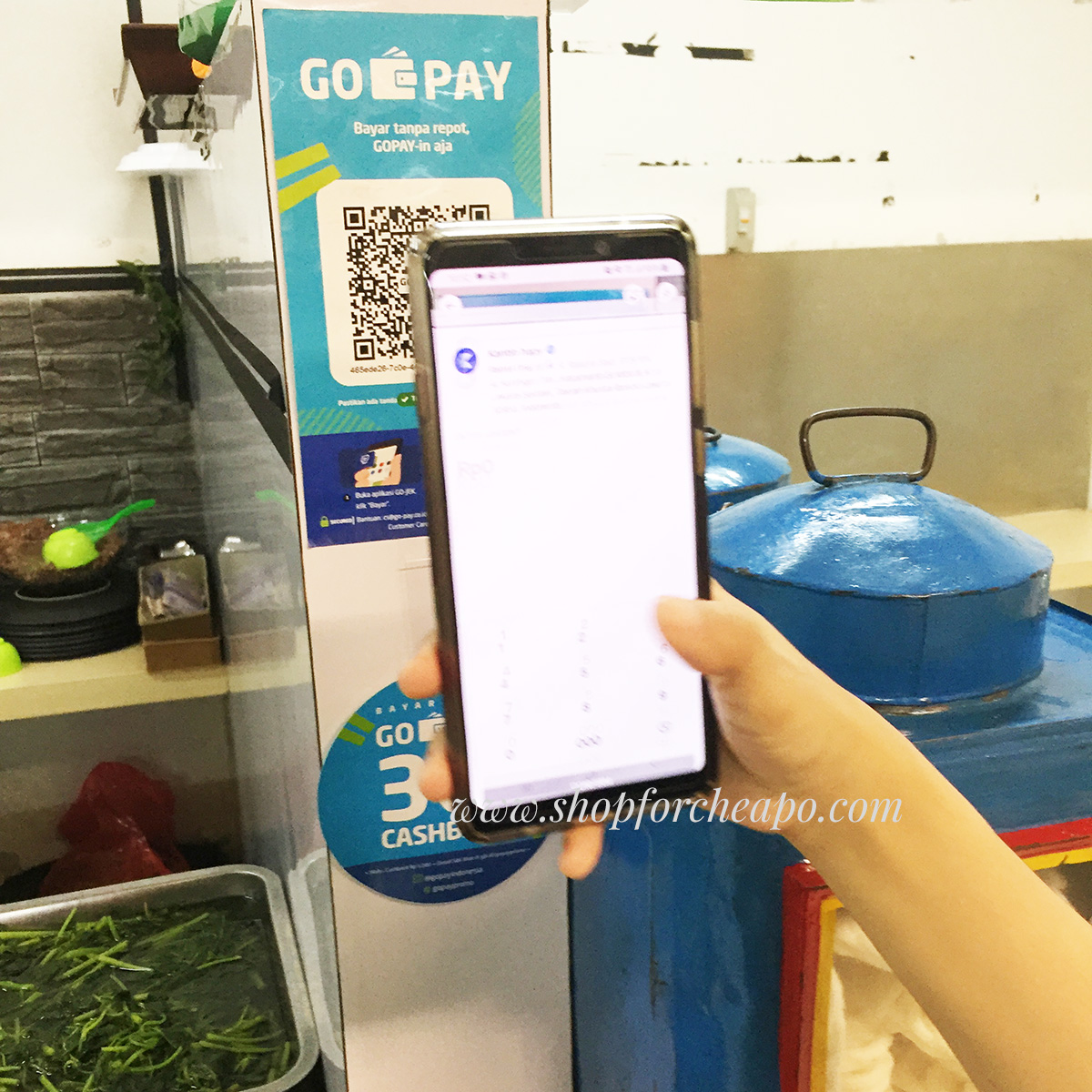 tips trik top up saldo gopay