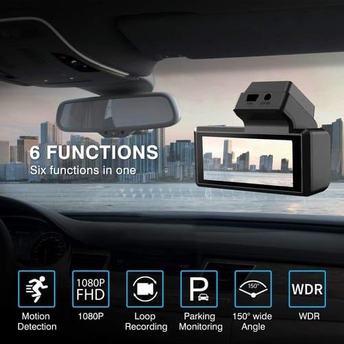Review JOMISE Full HD 1080P Dash Cam Car Camera