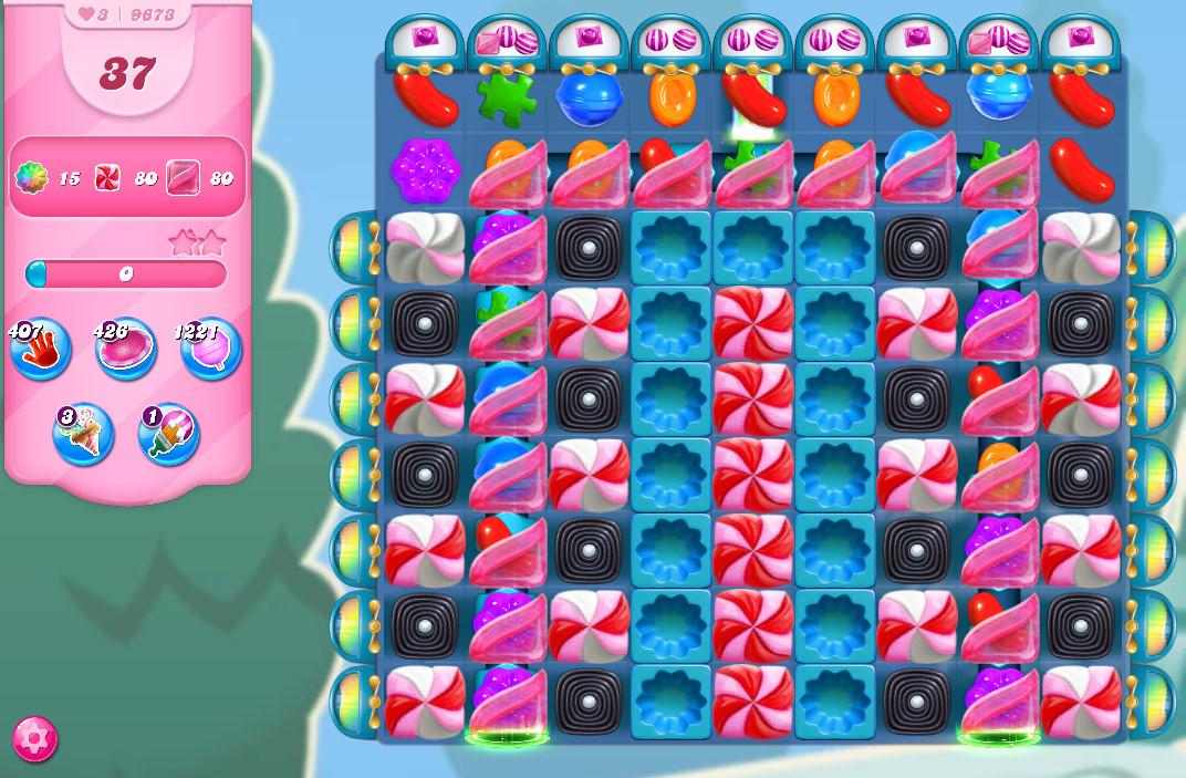 Candy Crush Saga level 9673