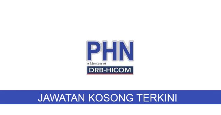 Kekosongan terkini di PHN Industry Sdn Bhd