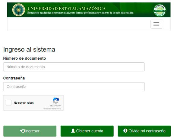 Consultar Asignación de Cupos 2017 Universidad Estatal Amazónica: