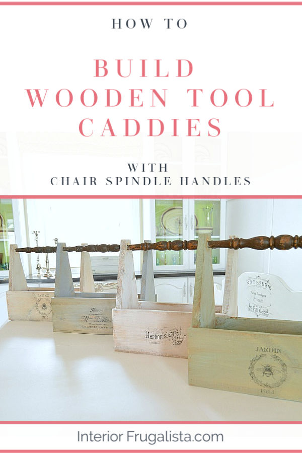 How To Build Wooden Tool Caddies