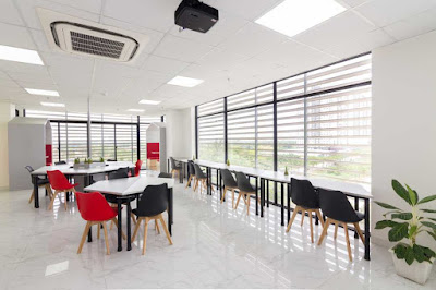 Địa chỉ bán bàn ghế setup văn phòng co-working space tại HCM - 9