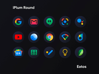 Dark Sensation -Icon Pack Screenshot
