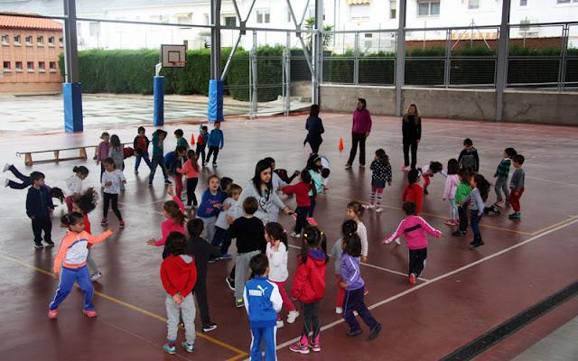 1500 escolares participan en la novena edición de la Olimpiada Escolar. IMAGEN ILLESCAS COMUNICACION