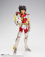 "Nuevas imagenes de Pegasus Seiya Revival Myth Cloth de ""Saint Seiya"" - Tamashii Nations"