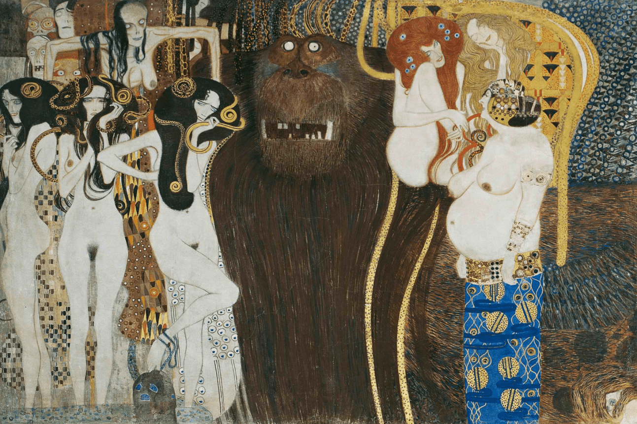 Klimt ~ Suas 5 principais pinturas