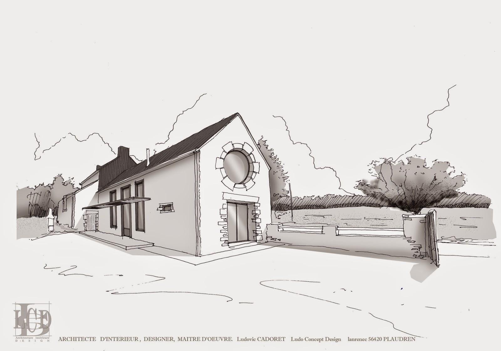 L c d ludo concept design architecte d 39 int rieur for Plan architecture en ligne
