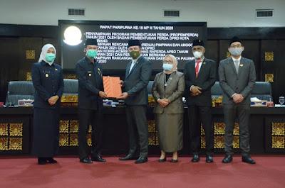 Komisi-komisi DPRD Palembang Setujui RAPBD 2021