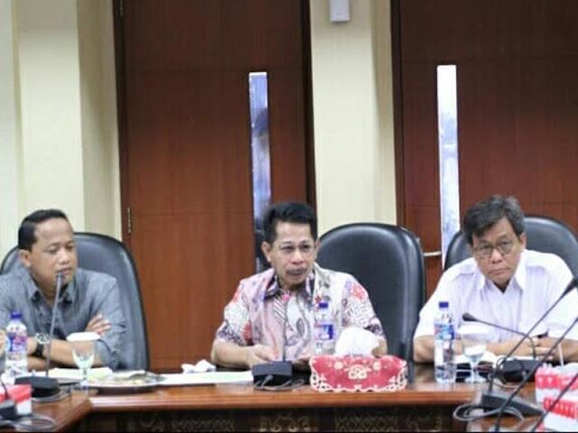 Hamin bin Thahir Pimpin Rapat Percepatan Pembangunan Bendungan Way Apu