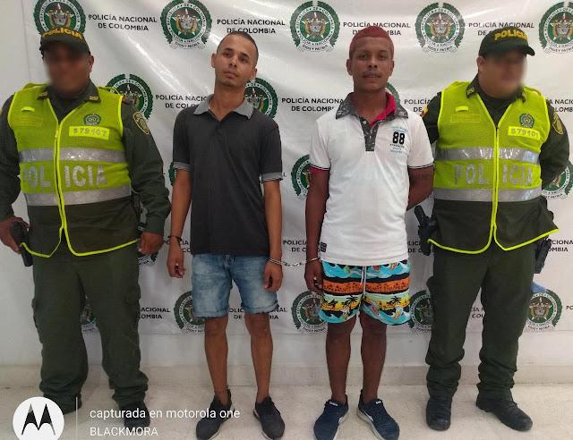 Operación relámpago en Maicao permitió recuperar moto robada por dos sujetos