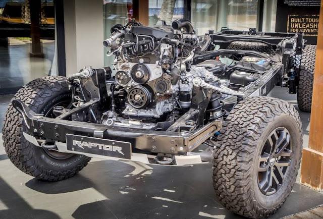2020 Ford Ranger Raptor 2.7 Ecoboost