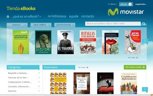 Libros Gratis Para Los Clientes De Movistar Gracias A