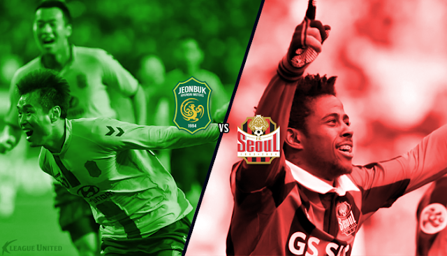 The king and the threat to his throne: Jeonbuk Hyundai's seasoned striker and consistent high scorer Lee Dong-gook takes on FC Seoul's incredible Adriano who is in the form of his life.