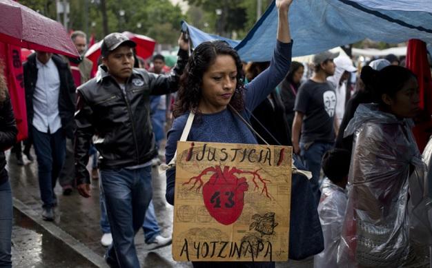 Ayotzinapa, jóvenes