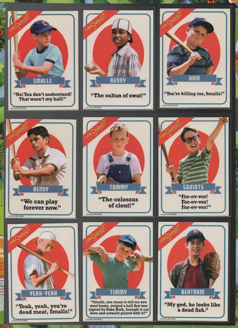 Baseball Card Breakdown The Sandlot Baseball Cards Plus