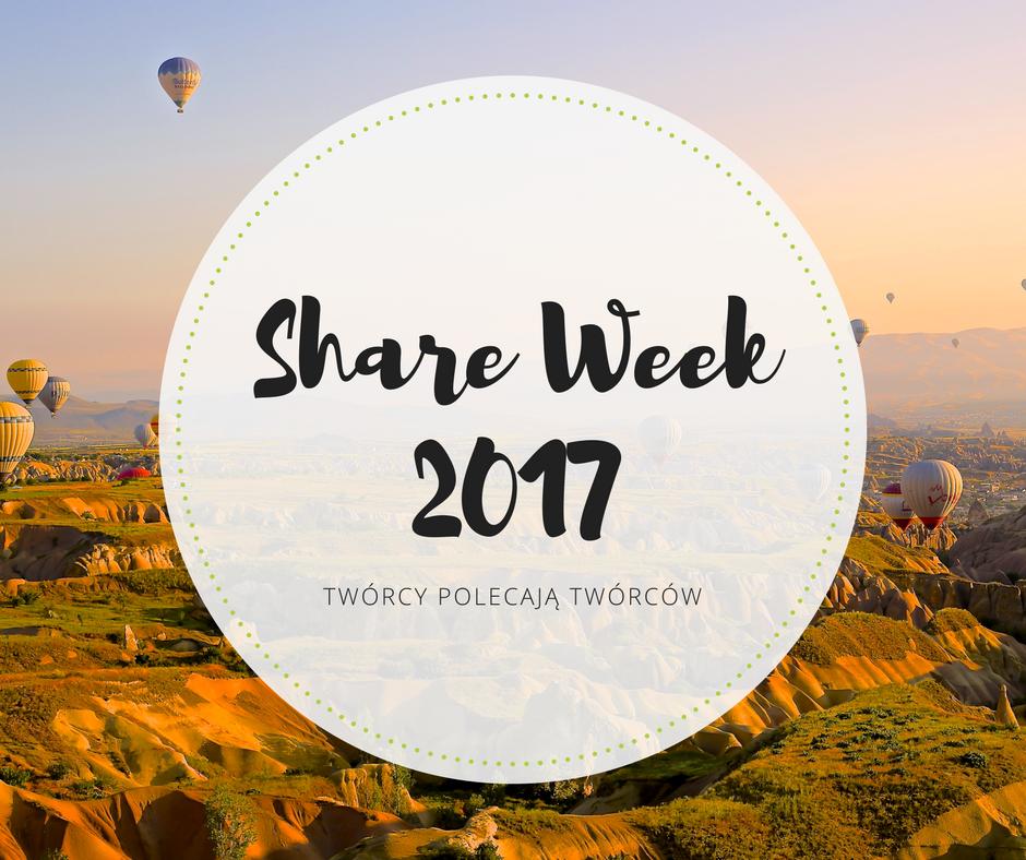 Twórcy polecają tworców, czyli <i>Share Week</i>