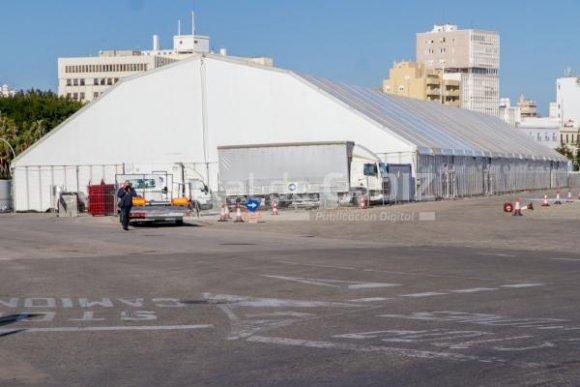 Luz verde a la nueva ubicación de la carpa del Carnaval de Cádiz