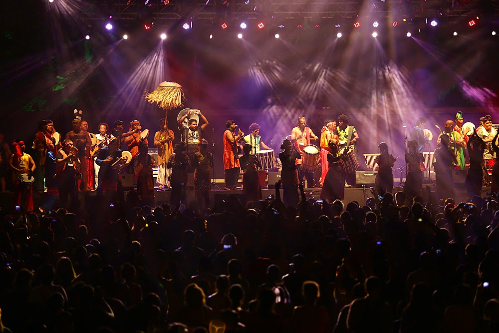 Pictures of Rainforest World Music Festival
