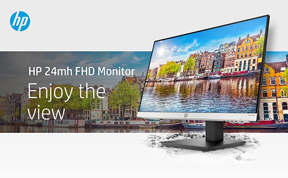 HP 24mh FHD Monitor PC