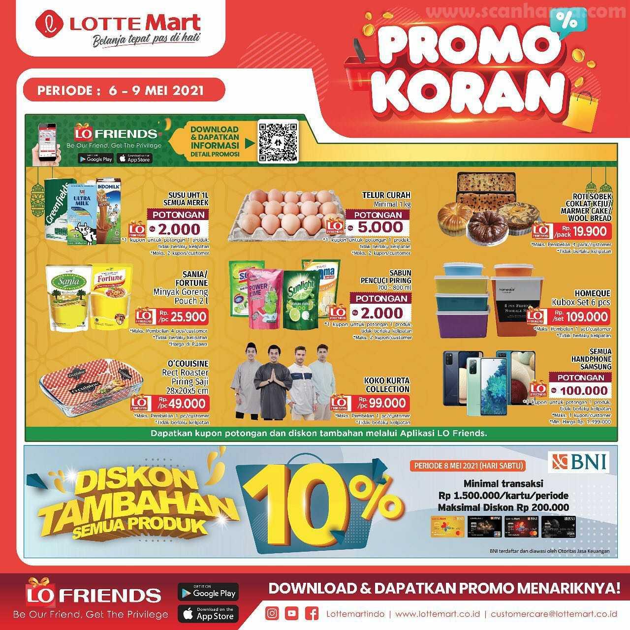 Katalog Promo Lottemart Weekend 6 - 9 Mei 2021 2