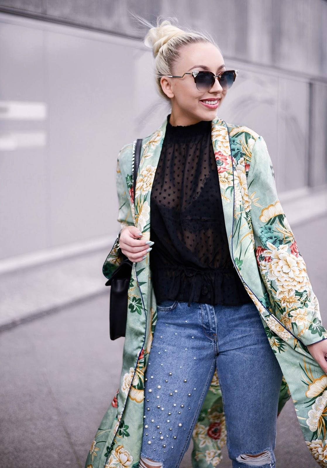 fendi iridia sunglasses_zara kimono_fendi sunglasses