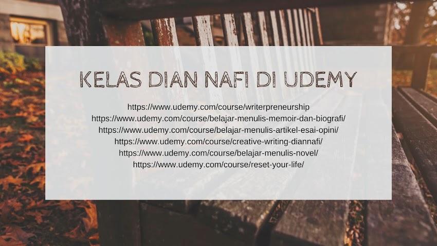 Kelas-Kelas Dian Nafi di Udemy
