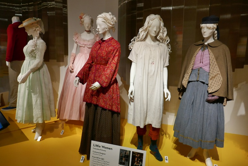 Little Women film costume exhibit