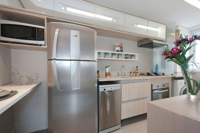 Cozinhas pequenas! - Jeito de Casa - Blog de Decoração