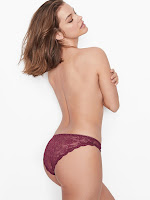 Barbara Palvin in Sexy Victoria's Secret Lingerie Models Photoshoot