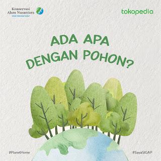 #PohonUntukKita, Aksi Nyata Selamatkan Bumi
