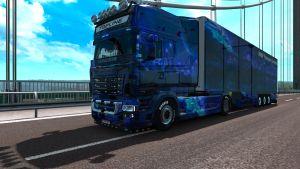 Kühltrailer NRW Show pack for Scania RJL EXC Topline
