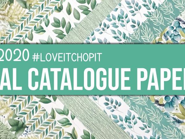 Kylie's NEW #loveitchopit Designer Series Paper Club Australia