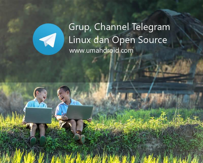 Kumpulan Grup, Channel Linux dan Open Source di Telegram