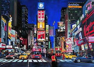 Time Square puzzle