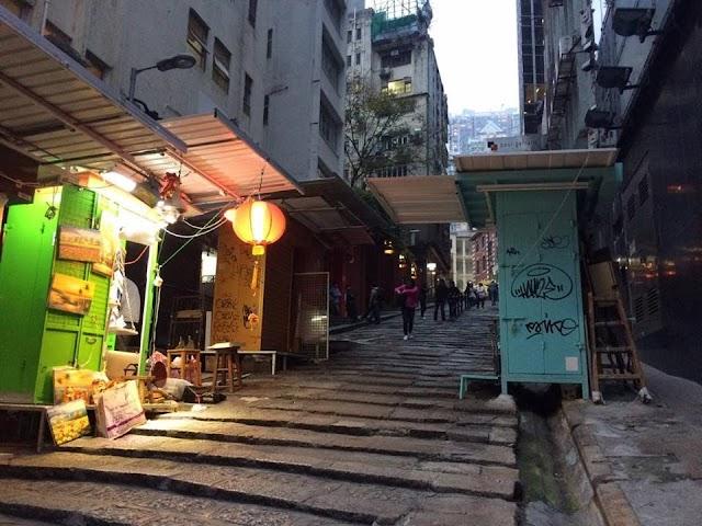 【探索社區】遊走中環高樓間 踏上「石板街」尋寶