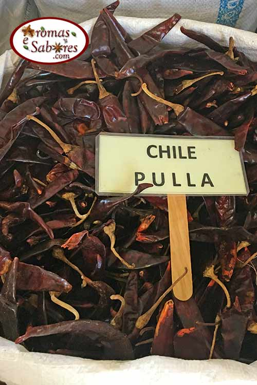 Chiles secos mexicanos chiltepec