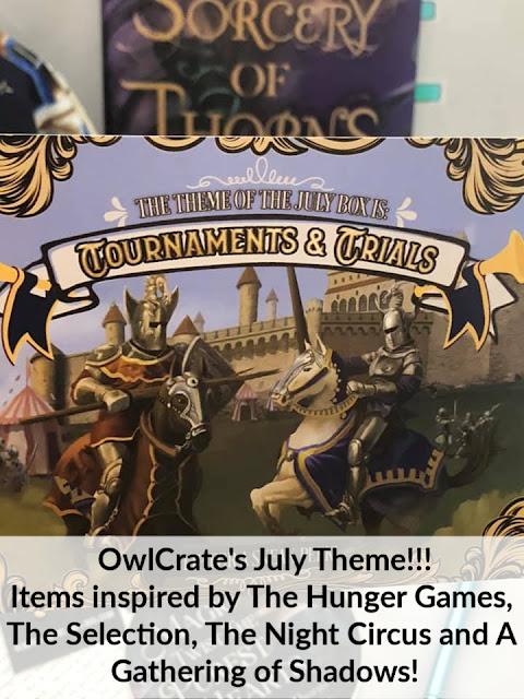 #owlcrate #julybookboxtheme