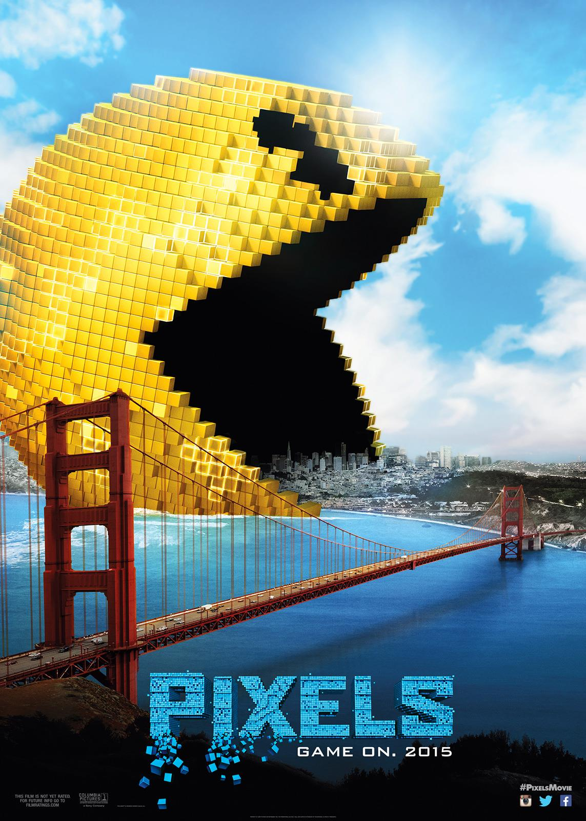 Pixels (2015) BluRay 480p & 720p