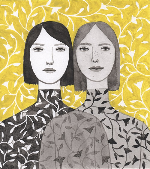 """Twins"" por Monica Garwood 