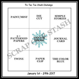 January Tic Tac Toe Stash Challenge