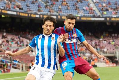 صور.. برشلونة يحبط ريمونتادا سوسيداد بفوز مثير فى الليجا
