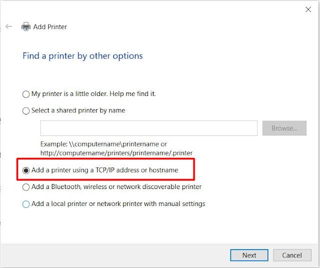 cara menghubungkan printer ke laptop melalui wifi