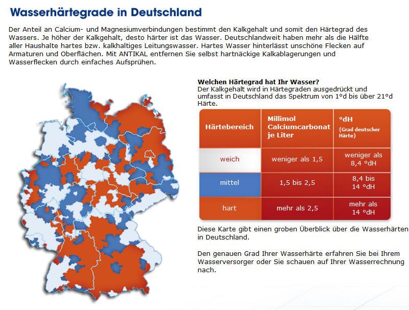 Landkartenblog: Calgon Zeigt Fragwürdige Deutschlandkarte