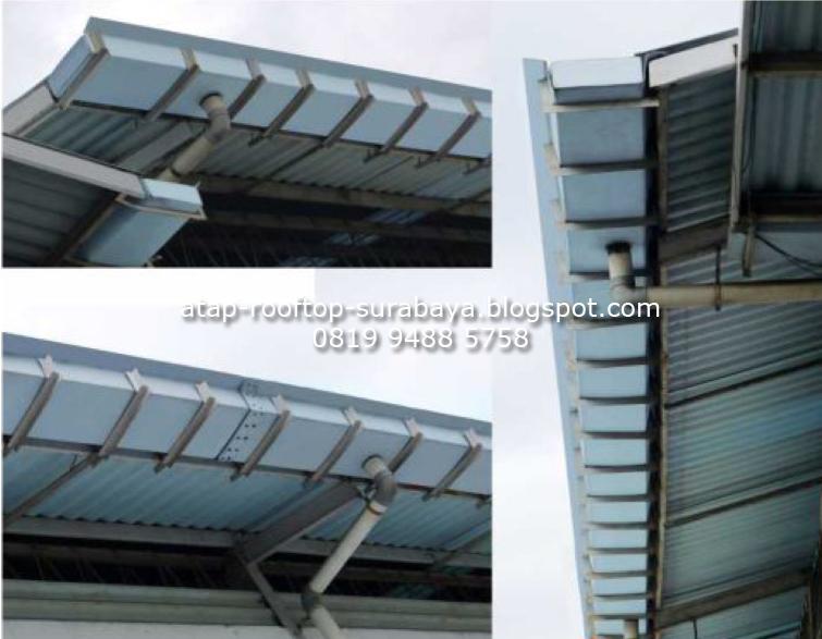 Pemasangan Atap Rooftop Distributor Atap Rooftop di Surabaya