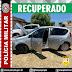 Polícia militar recupera carro com restrição de roubo na cidade de Imaculada-PB